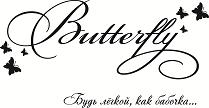 BUTTERFLY: рассрочка от 4 мес.